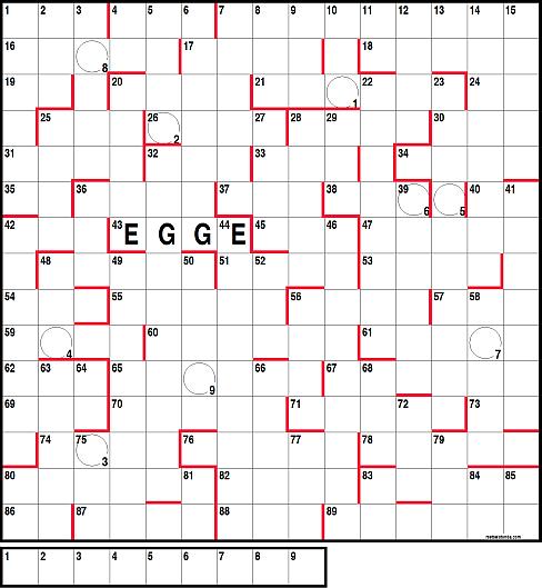 Amerikanisches Kreuzworträtsel