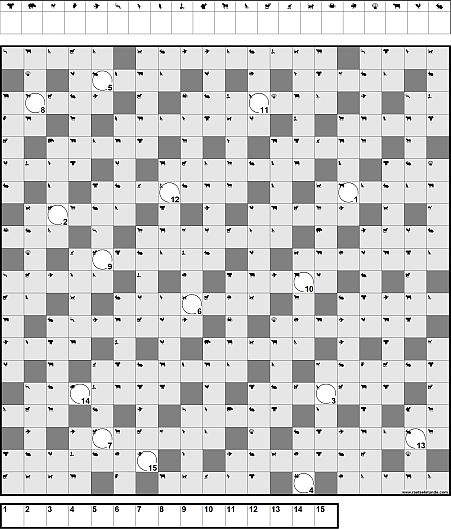 Zahlen Kreuzworträtsel Online