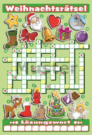 Rätsel Weihnachten Erwachsene.Weihnachtsrätsel